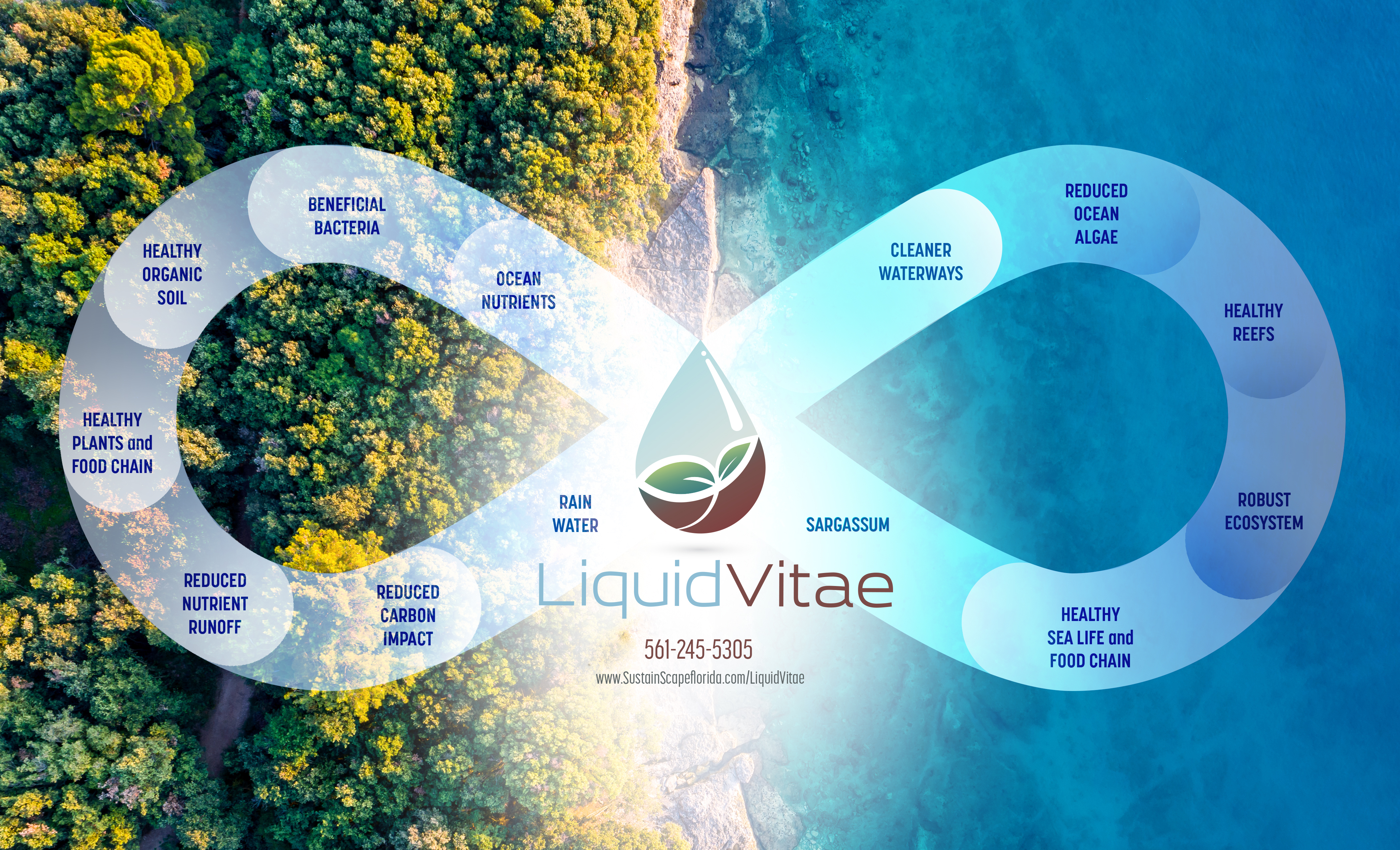 Organic Fertilizer in Boca Raton, Palm Beach, Liquid Vitae